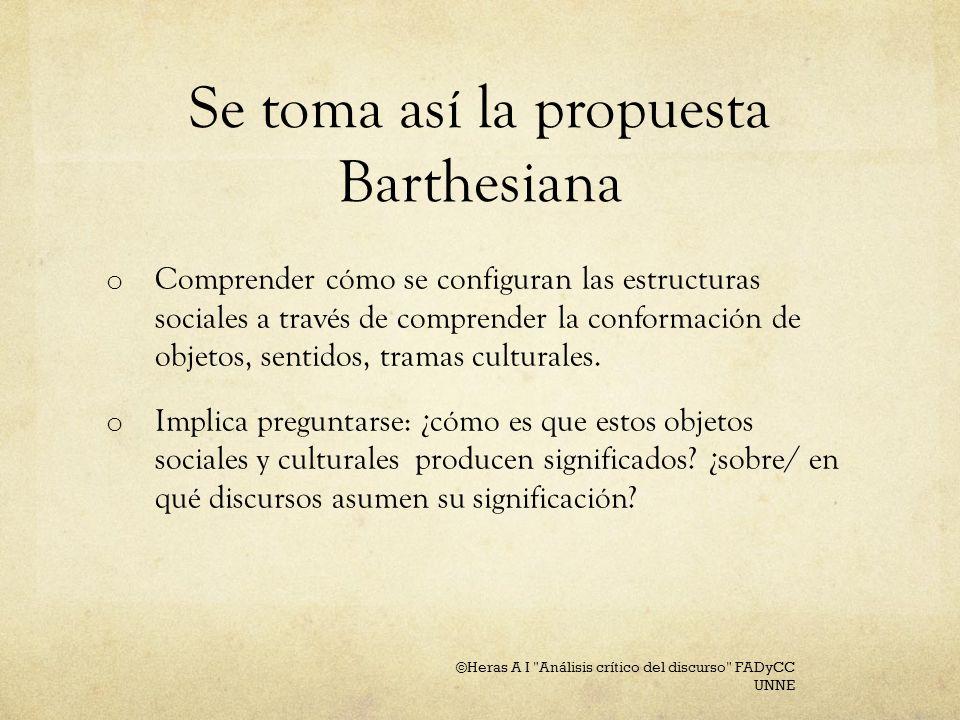 Barthes connotación es un rasgo que tiene el poder de referirse a menciones anteriores, ulteriores o exteriores, a otros lugares del texto (o de otro texto): no hay que restringir en nada esa relación que puede ser designada de diversas maneras ( función o indicio, por ejemplo) Barthes S/Z (2004, primera ed en español, original en francés 1970), pp.