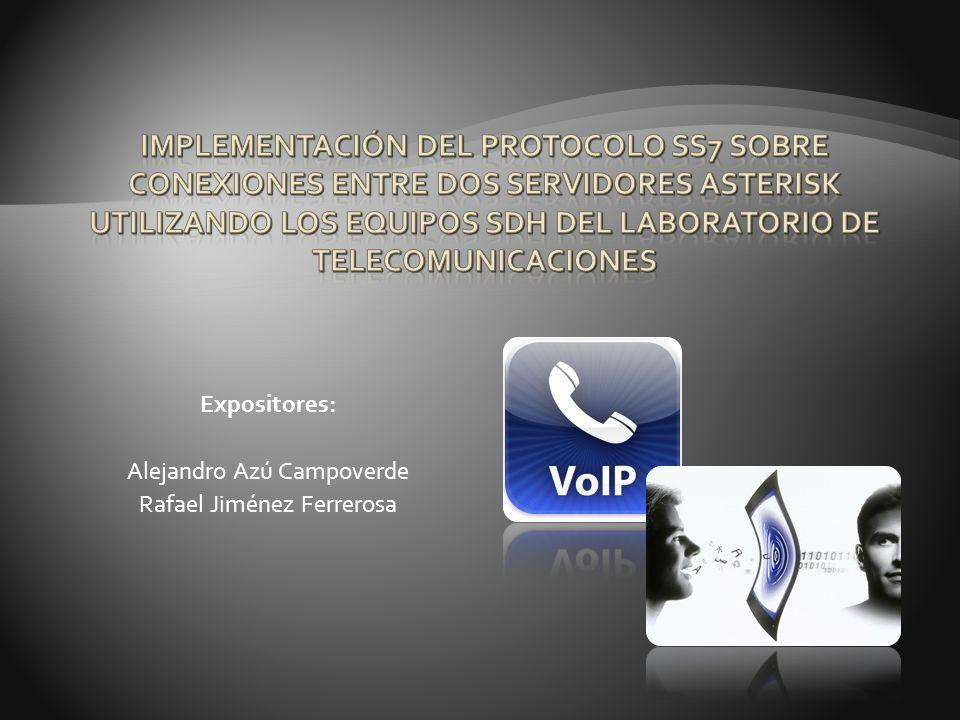 Comprobar la comunicación entre los servidores utilizando el comando: originate SS7/1001 application echo