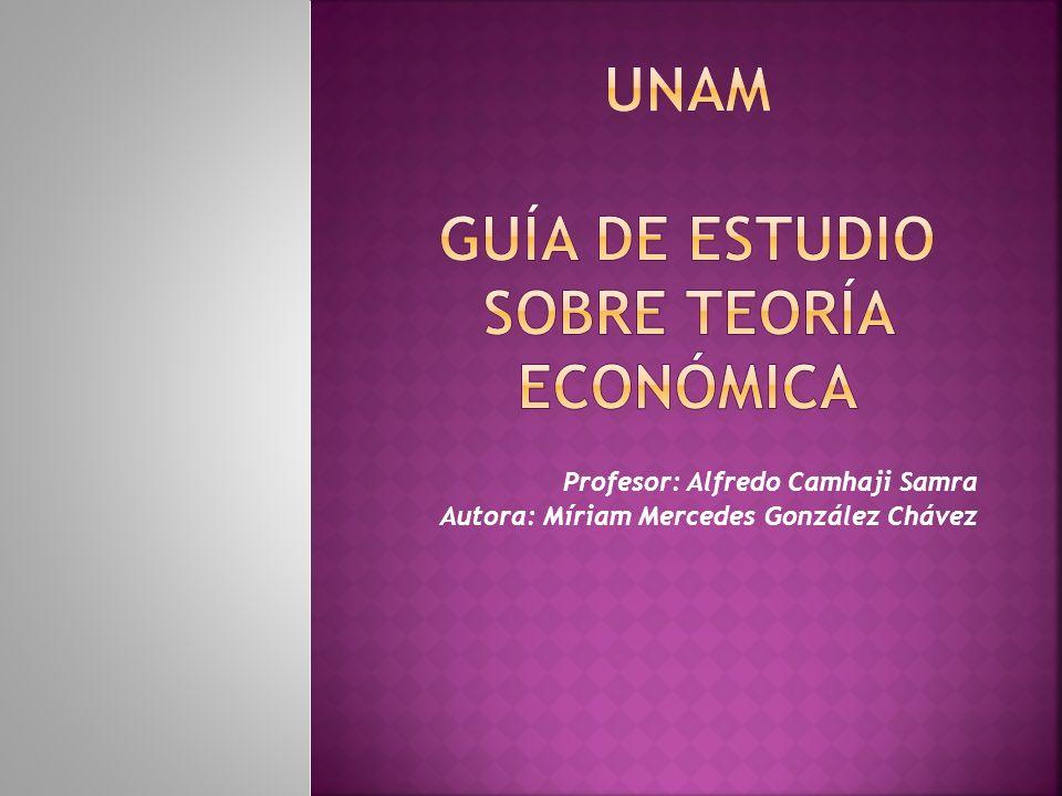 Profesor: Alfredo Camhaji Samra Autora: Míriam Mercedes González Chávez