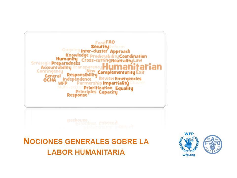 N OCIONES GENERALES SOBRE LA LABOR HUMANITARIA P RINCIPIOS RECTORES 12Nociones generales sobre la labor humanitaria Derecho humanitario internacional, derechos humanos y principios humanitarios 1.Humanidad 2.Imparcialidad 3.Neutralidad 4.Independencia Principios de asociación 1.Igualdad 2.Transparencia 3.Enfoque orientado hacia los resultados 4.Responsabilidad 5.Complementariedad