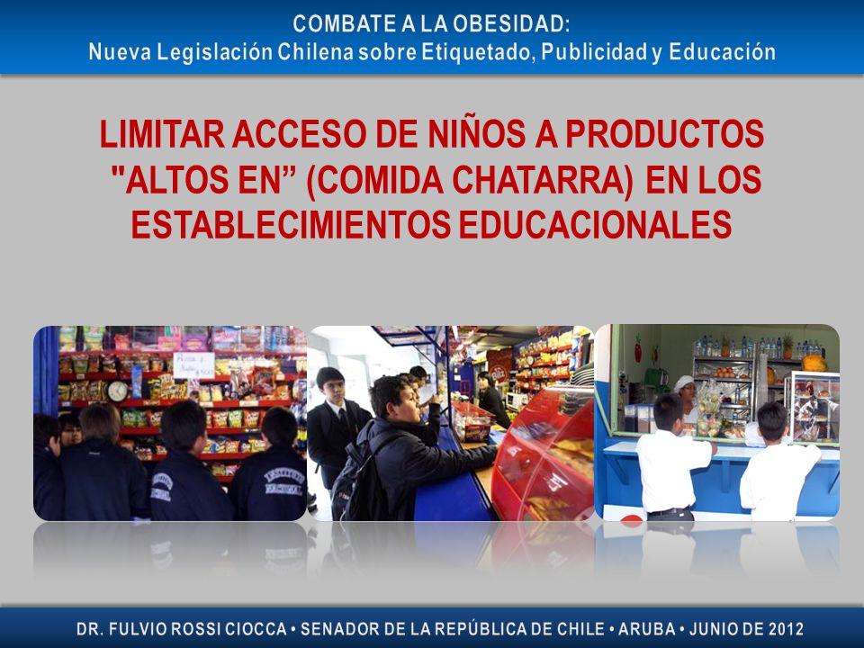 LIMITAR ACCESO DE NIÑOS A PRODUCTOS