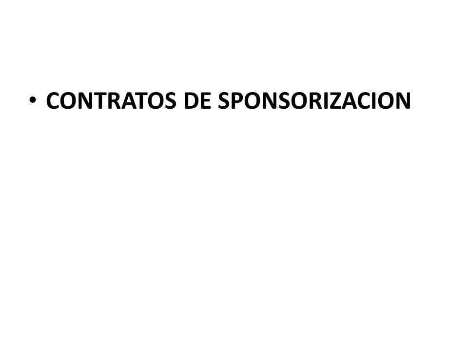 En cambio el patrocinado o SPONSEE normalmente se obliga a realizar por un tiempo determinado publicidad a favor del sponsor, en forma exclusiva o compartida, según el caso.
