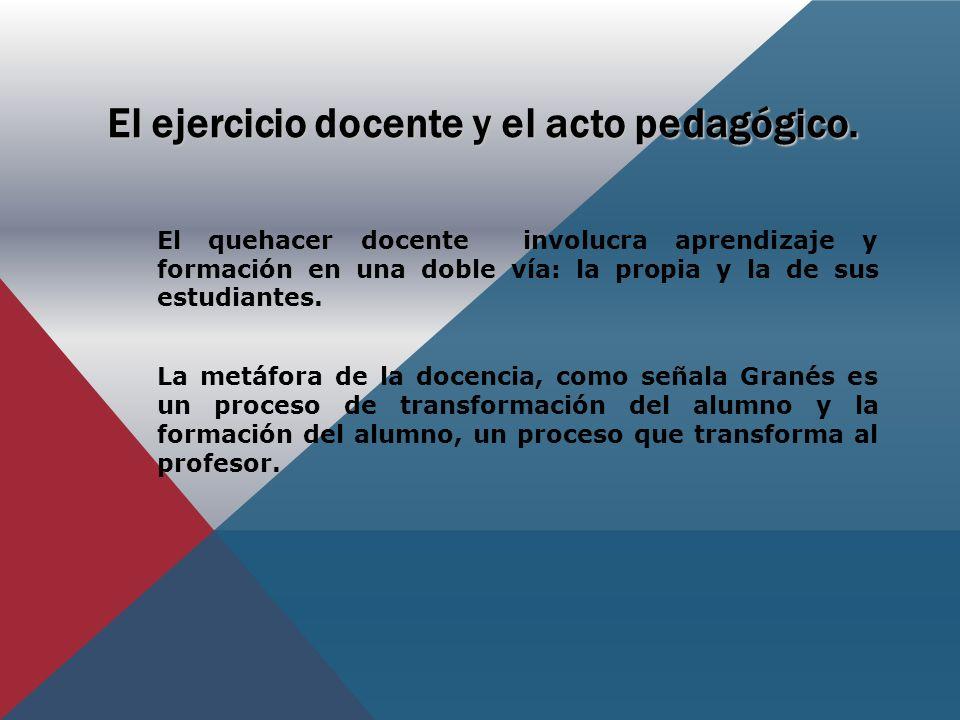 Metáfora de la docencia G.