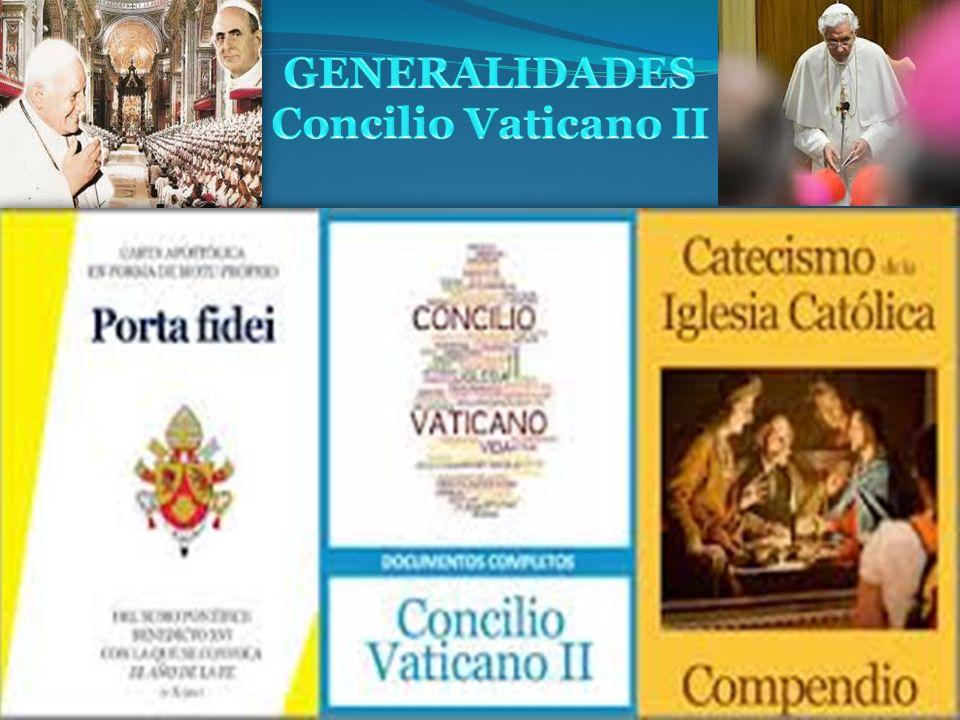 EL AÑO DE LA FE: 50 aniversario del Concilio Vaticano II Con la Carta apostólica Porta fidei del 11 de octubre de 2011, Benedicto XVI convocó un Año de la fe.