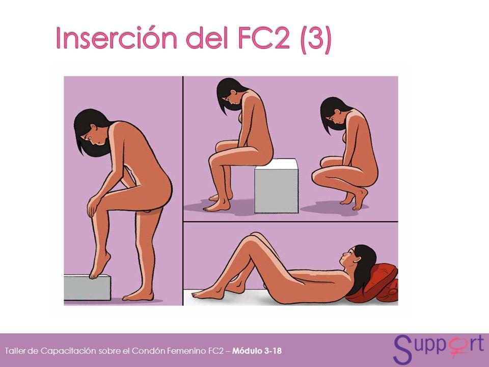 Taller de Capacitación sobre el Condón Femenino FC2 – Módulo 3-18