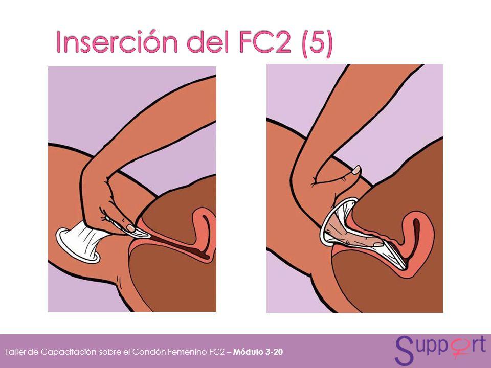 Taller de Capacitación sobre el Condón Femenino FC2 – Módulo 3-20
