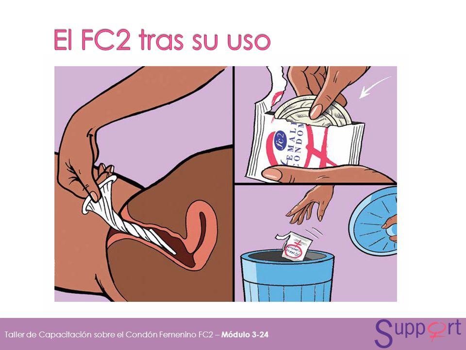 Taller de Capacitación sobre el Condón Femenino FC2 – Módulo 3-24