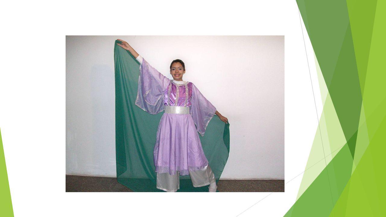 Danza con Cinta La cinta es pedazo de tela o lienzo con una vara en un extremo para ser suspendido en el aire.
