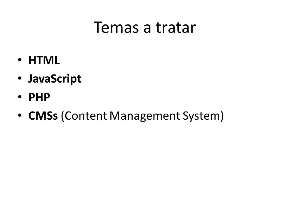 JavaScript Inserción de código JavaScript en un sitio web.