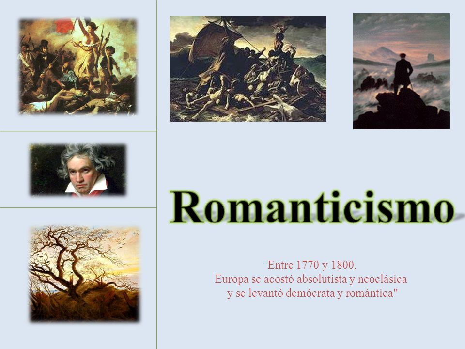 Entre 1770 y 1800, Europa se acostó absolutista y neoclásica y se levantó demócrata y romántica