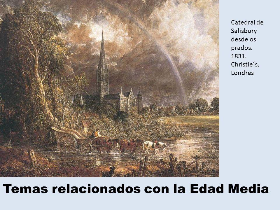Temas relacionados con la Edad Media Catedral de Salisbury desde os prados.