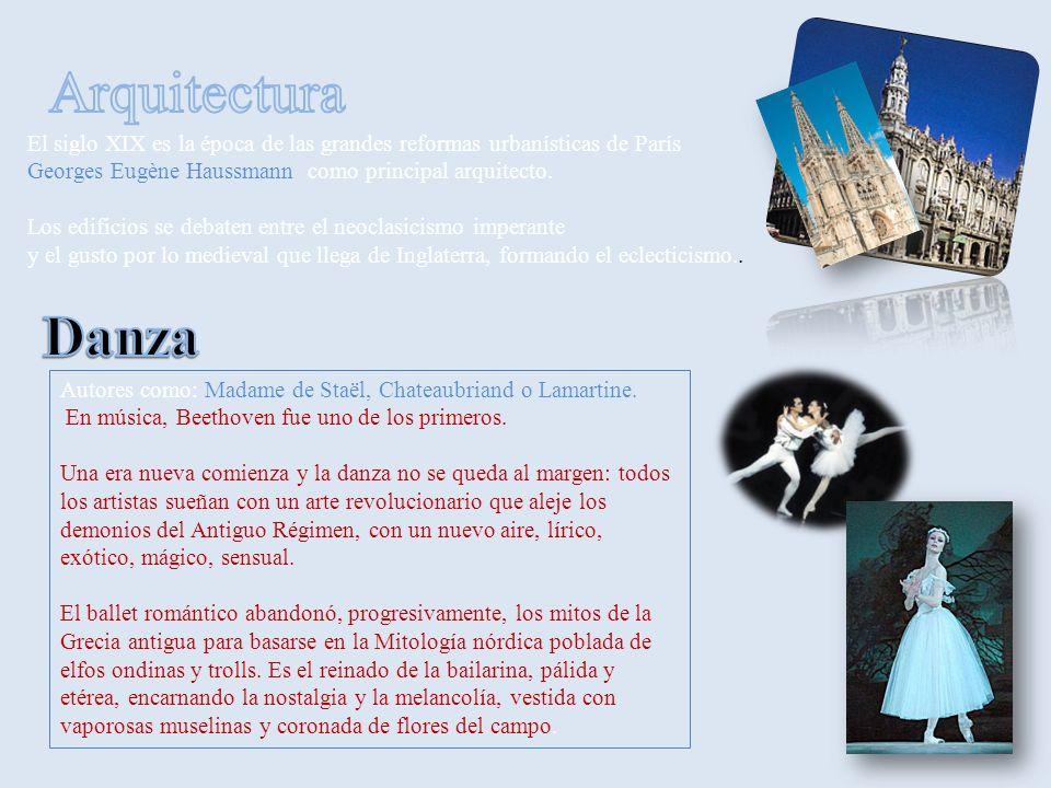El siglo XIX es la época de las grandes reformas urbanísticas de París Georges Eugène Haussmann como principal arquitecto.
