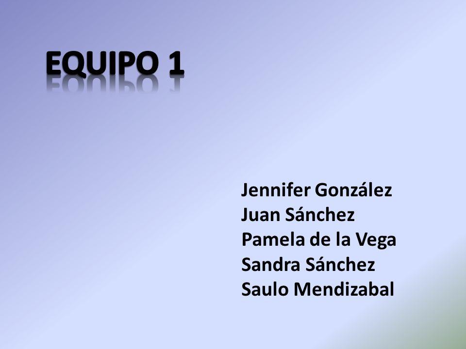 Jennifer González Juan Sánchez Pamela de la Vega Sandra Sánchez Saulo Mendizabal