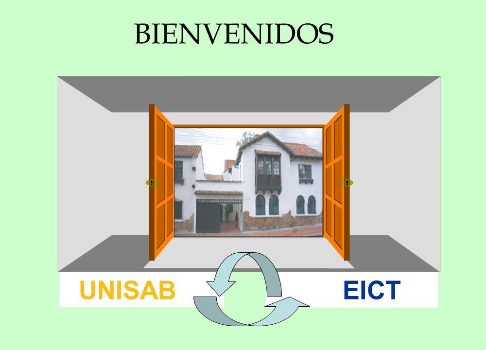 BIENVENIDOS UNISAB EICT