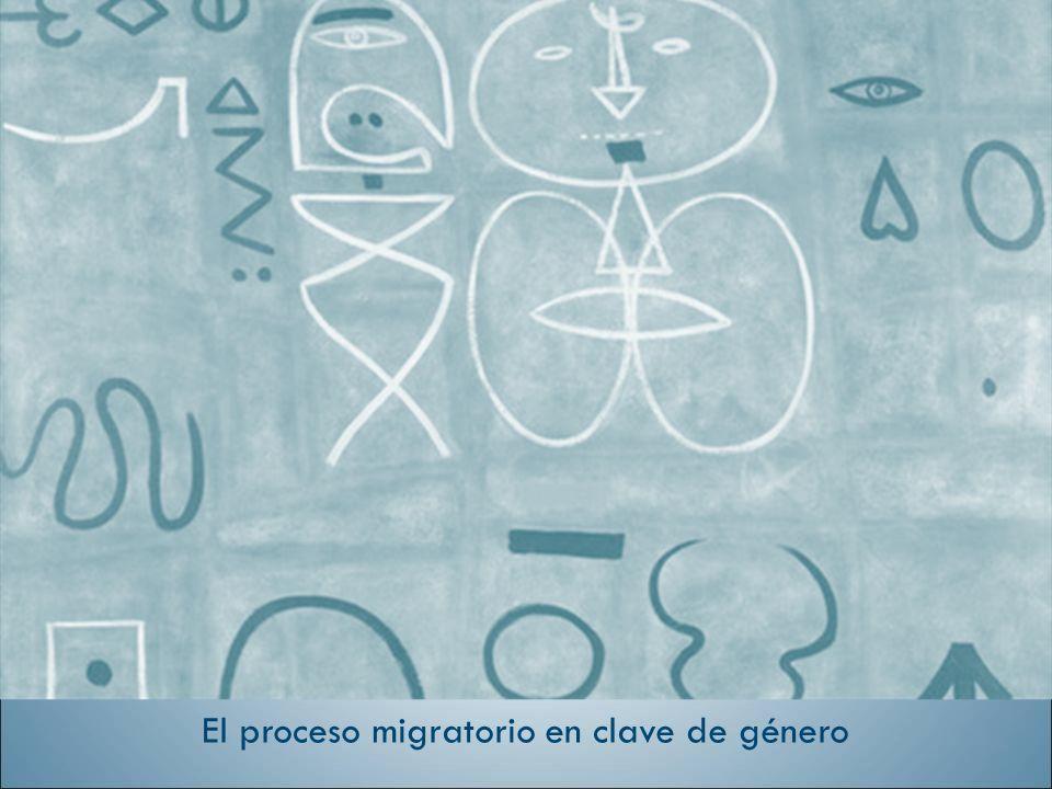 El proceso migratorio en clave de género