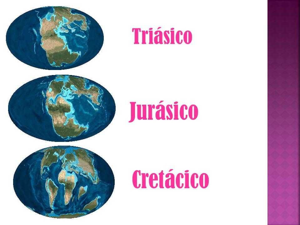 Triásico Jurásico Cretácico