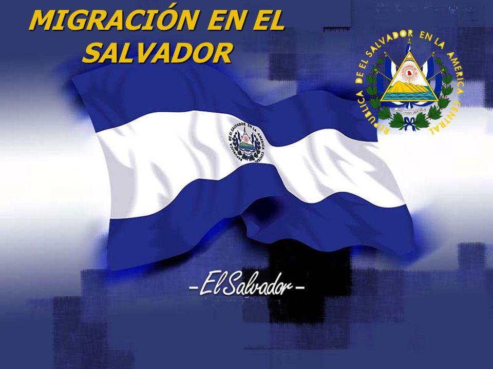 MIGRACIÓN EN EL SALVADOR