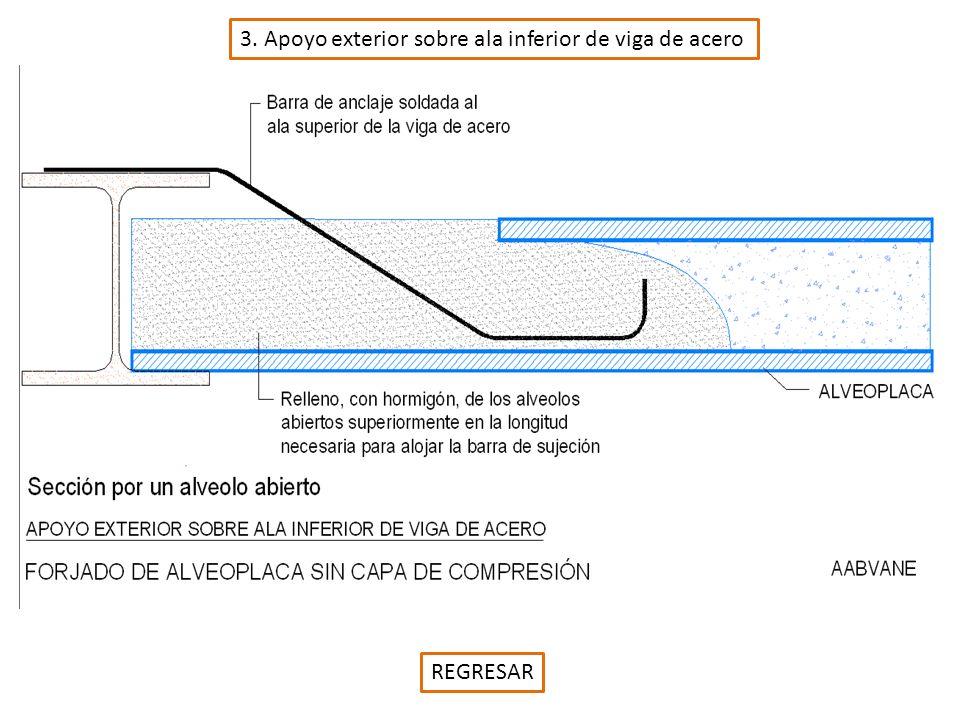 4. Apoyo inferior sobre ala inferior de viga de acero REGRESAR