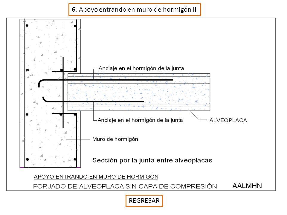 17. Apoyo interior sobre muro de fabrica de ladrillo III REGRESAR