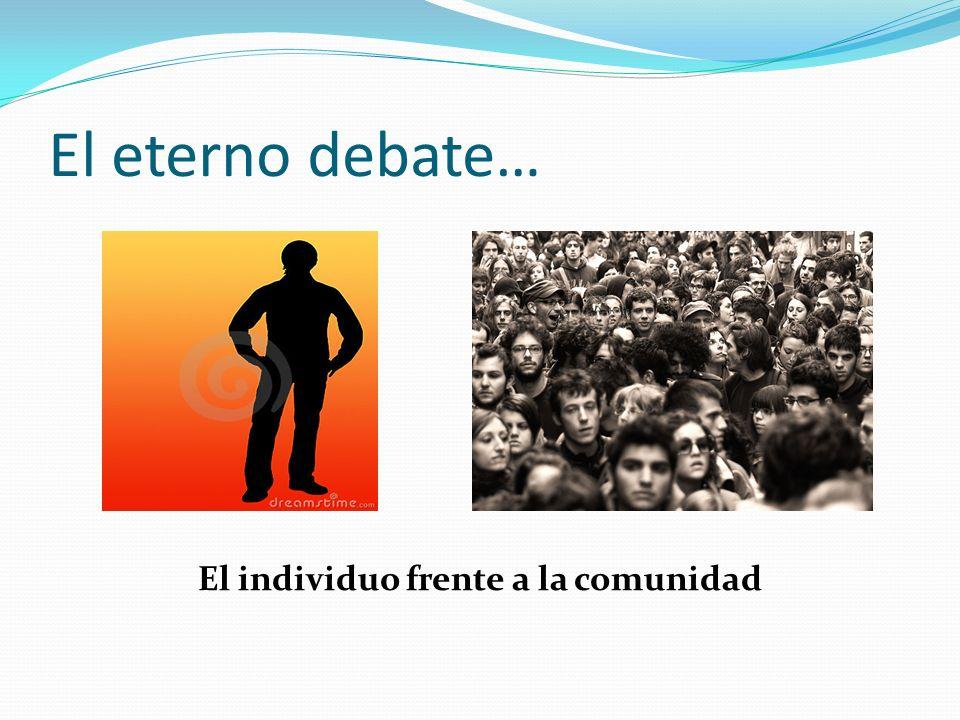 1.Desvinculación vs situación La persona es contingente, libre de trabas, sin ataduras.