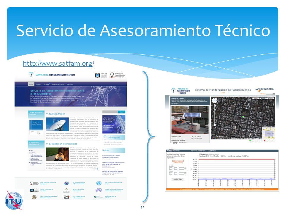 Servicio de Asesoramiento Técnico 32 http://www.satfam.orghttp://www.satfam.org/