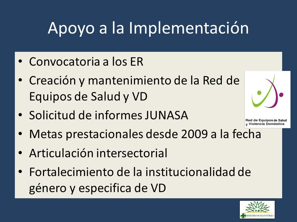 Distribución de los ER en el territorio Zonas con ER desde 2007 Inicio de ER en 2009 ER inestables, información parcial Nùmero de ER activos por mes
