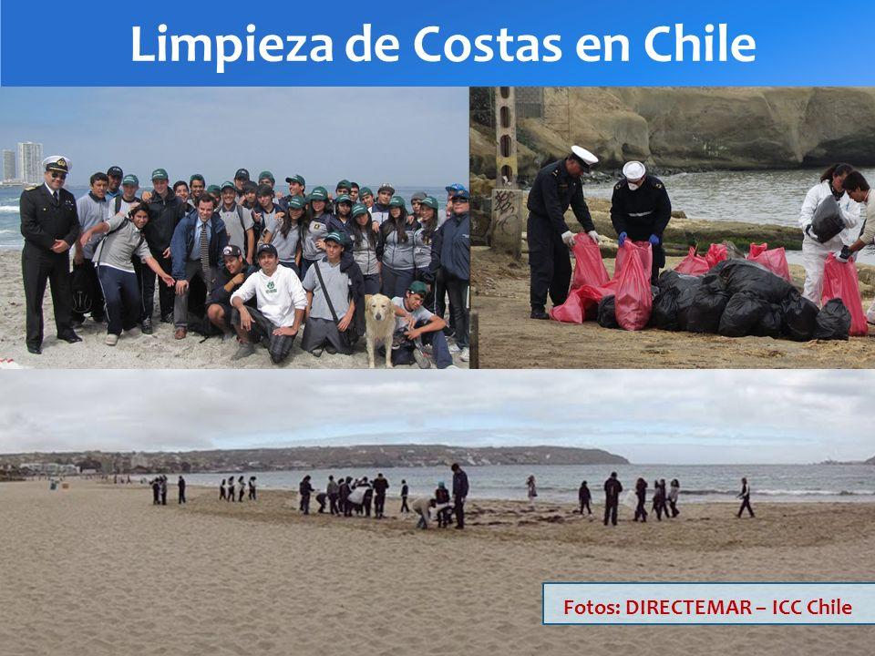 Limpieza de Costas en Chile Fotos: DIRECTEMAR – ICC Chile