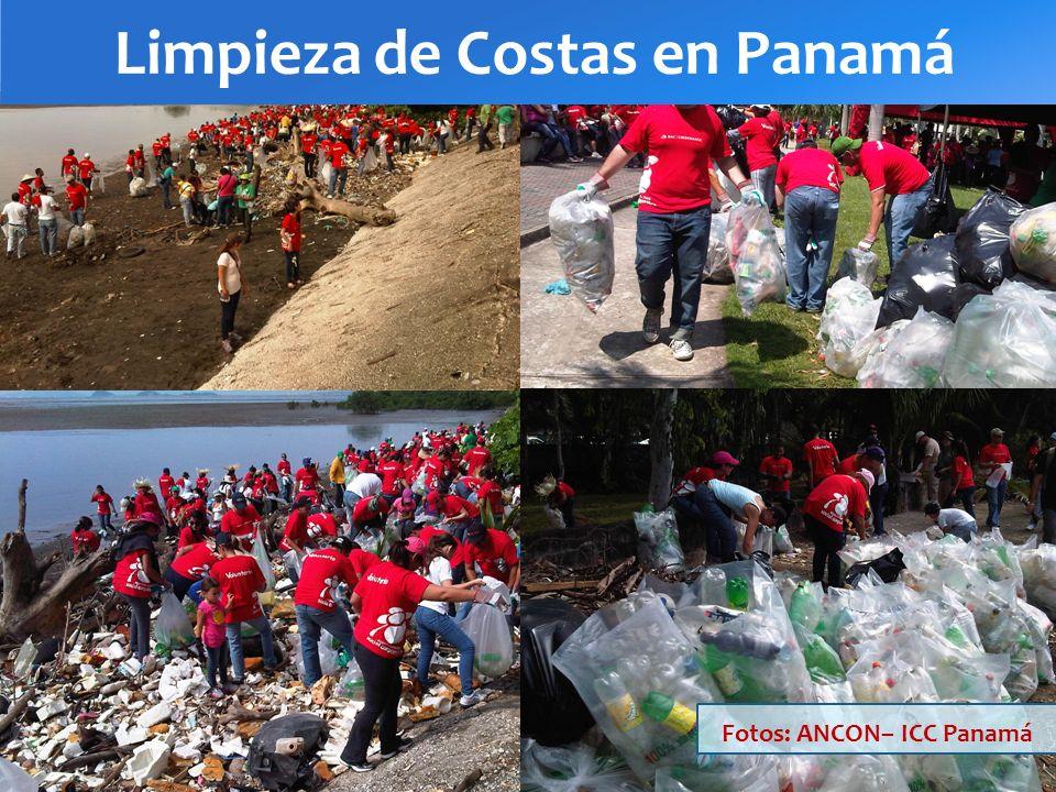 Limpieza de Costas en Panamá Fotos: ANCON– ICC Panamá