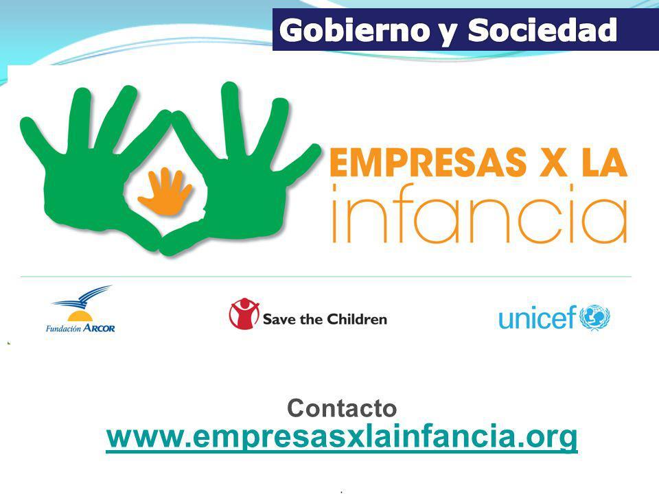 Contacto www.empresasxlainfancia.org www.empresasxlainfancia.org