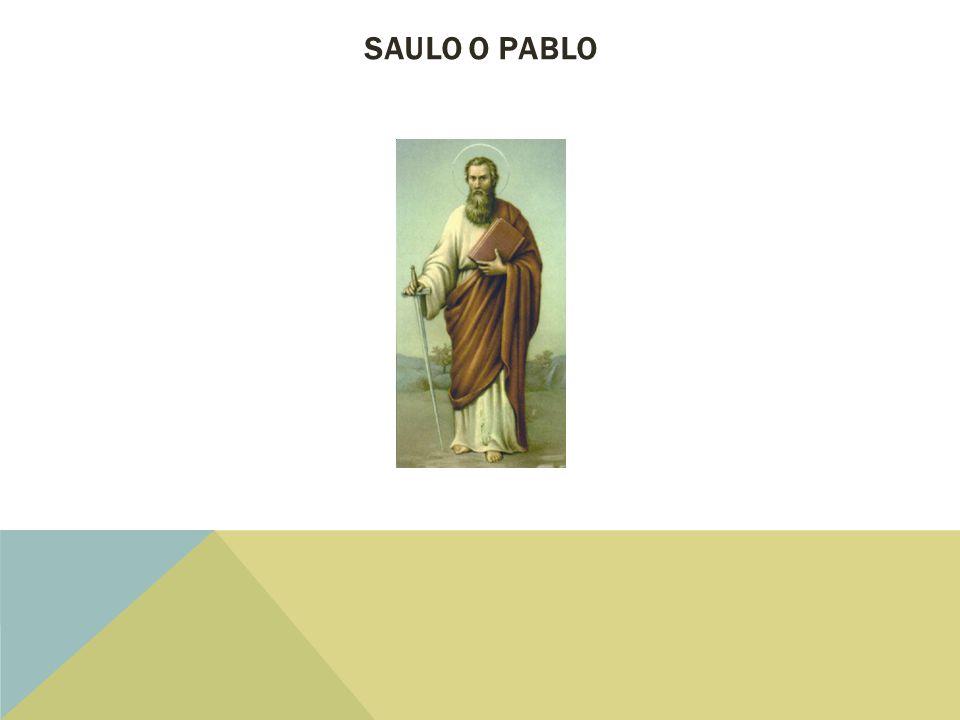 SAULO O PABLO