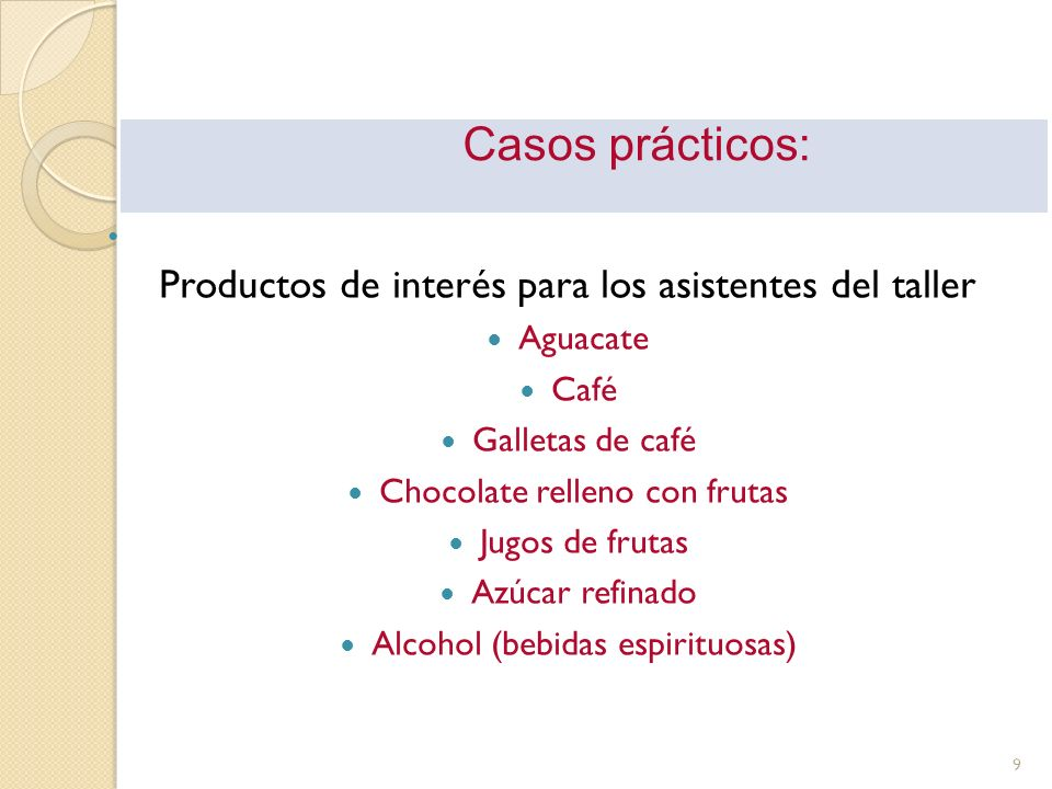 PRODUCTO: AGUACATE (N.C.