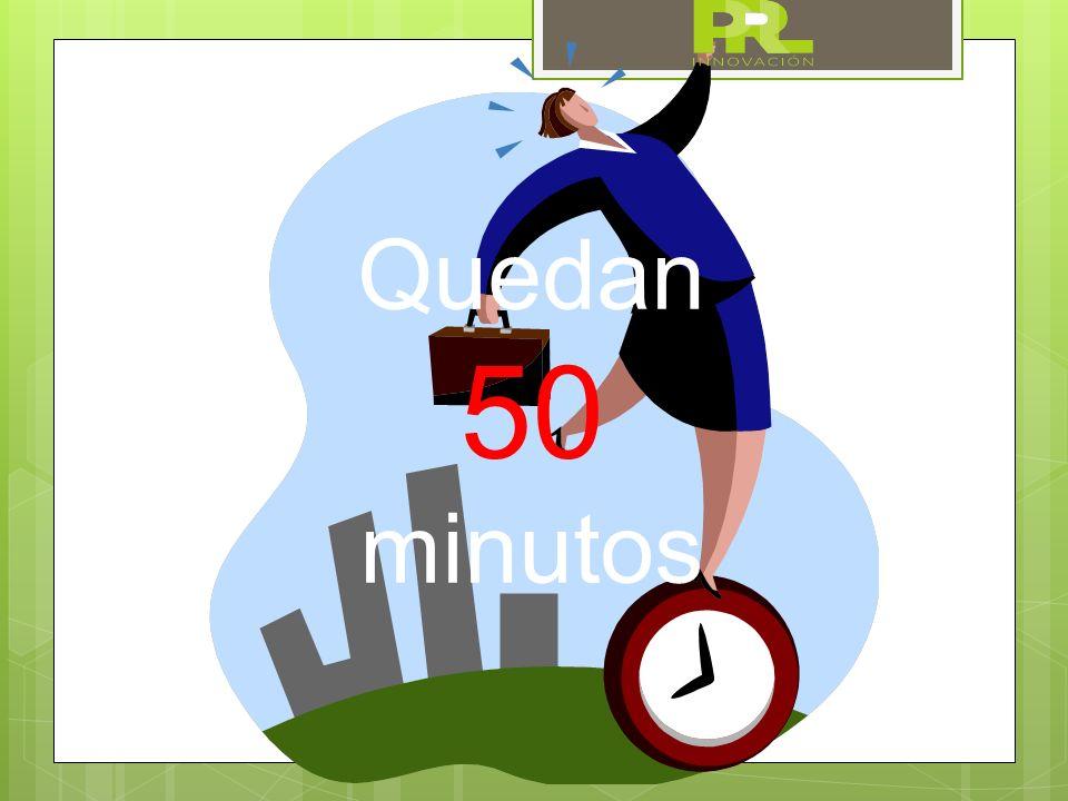 Quedan 50 minutos
