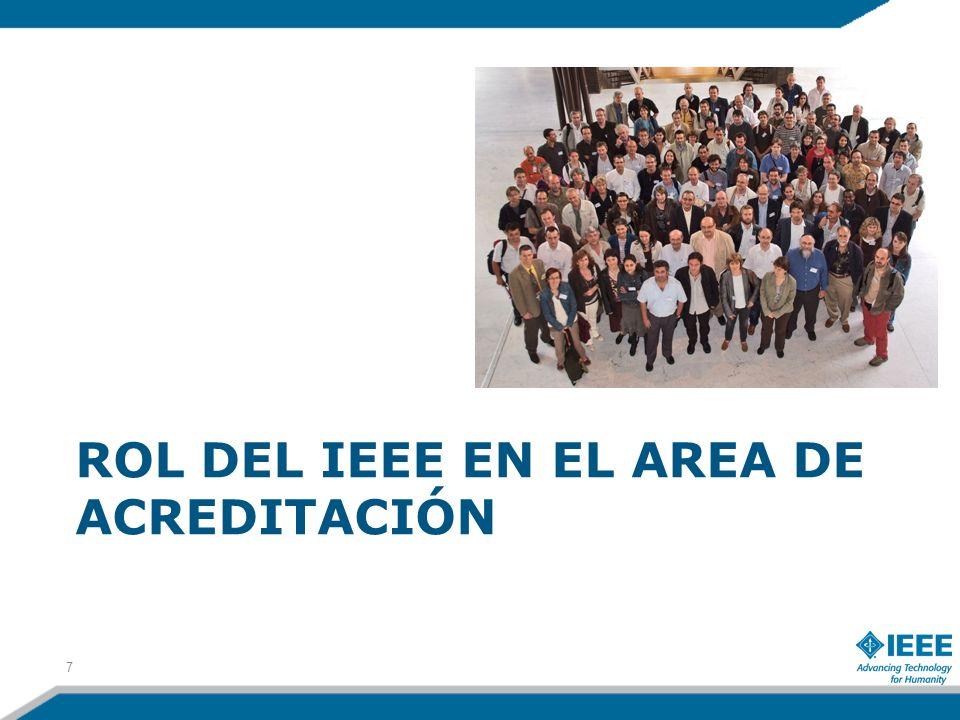 ROL DEL IEEE EN EL AREA DE ACREDITACIÓN 7