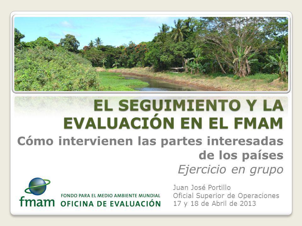 Intervención del coordinador de operaciones en la evaluación 2.