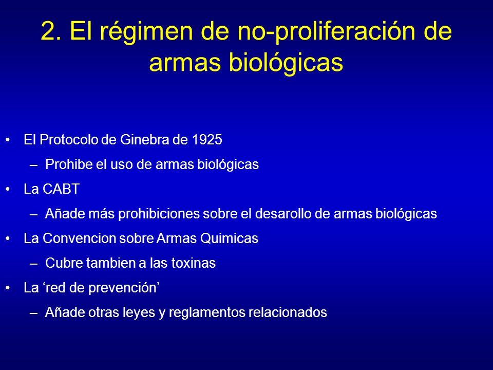 (Diapositiva 5) Sims, Nicholas (2001) The Evolution of Biological Disarmament (SIPRI Chemical & Biological Warfare Studies No.