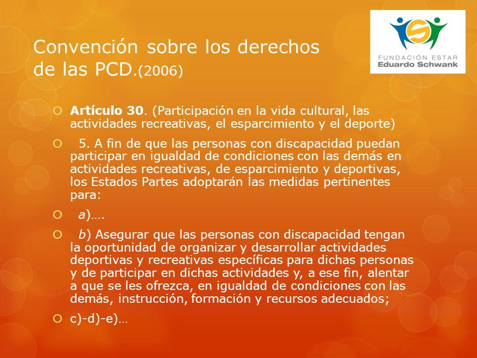 Artículo 30.