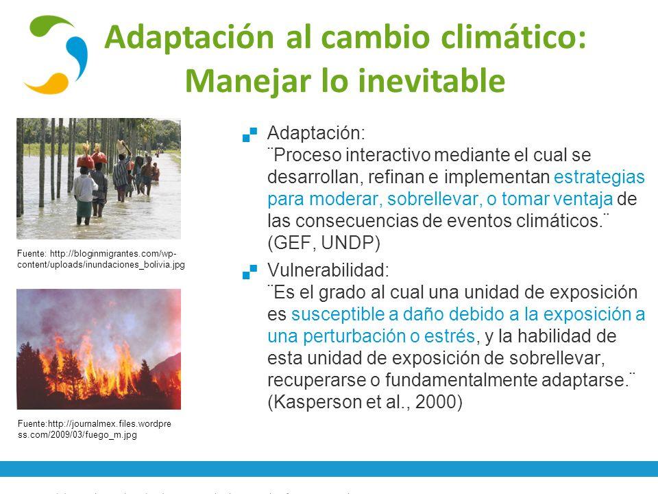 Conceptos básicos de cambio climático y gestión de gases de efecto invernadero13 Fuente: http://bloginmigrantes.com/wp- content/uploads/inundaciones_b