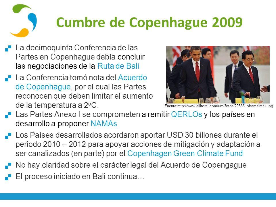 Fuente:http://www.ellitoral.com/um/fotos/20866_obamainte1.jpg La decimoquinta Conferencia de las Partes en Copenhague debía concluir las negociaciones