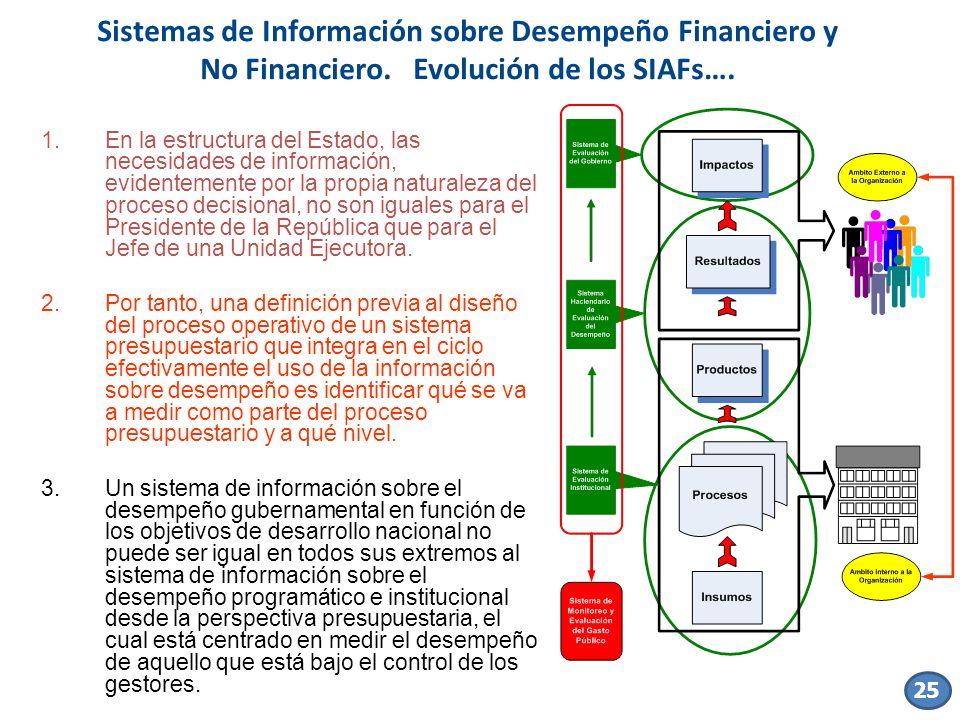 1.En la estructura del Estado, las necesidades de información, evidentemente por la propia naturaleza del proceso decisional, no son iguales para el P