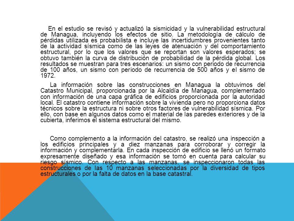 INTRODUCCION La sismicidad de Managua y el trauma de la tragedia que enlutó a la capital, primero el 31 de marzo de 1931, y luego, el 23 de diciembre