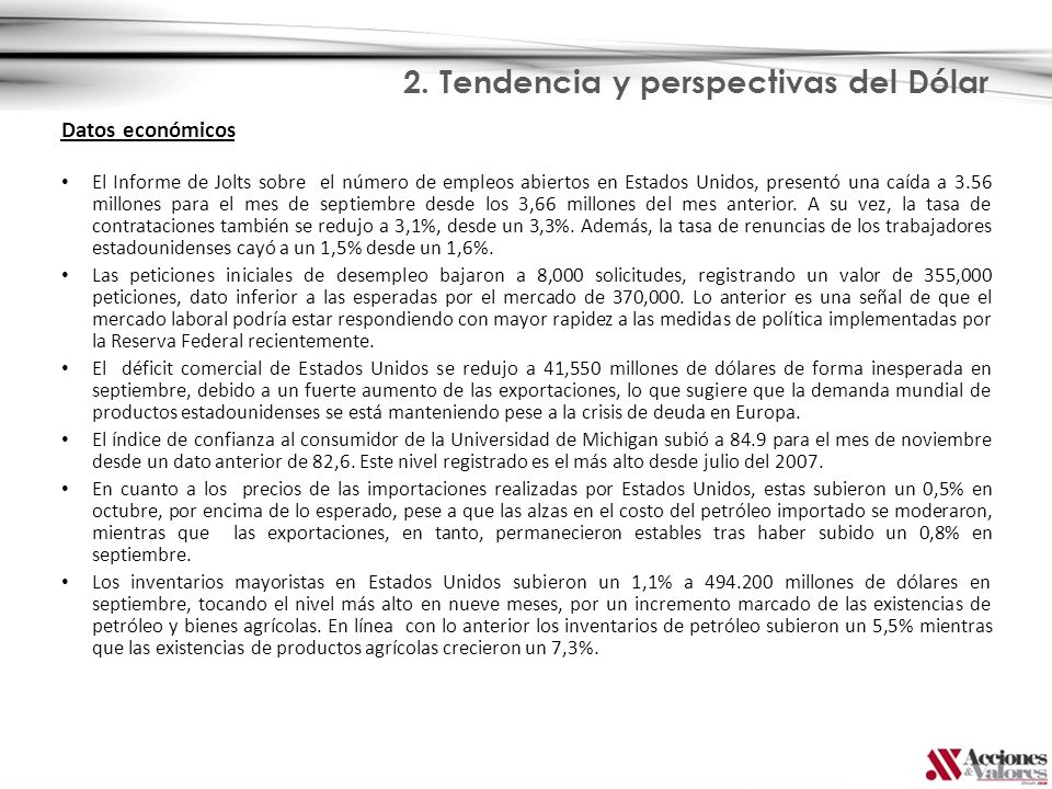 3. Monedas Latinoamericanas y Panorama Internacional