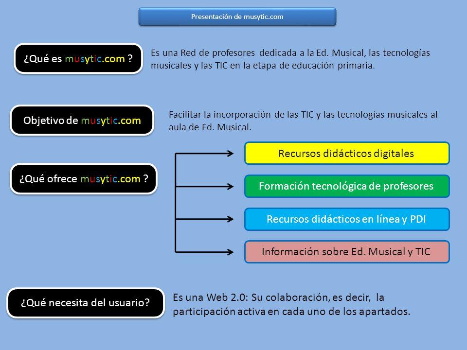 Presentación de musytic.com ¿Qué es musytic.com . ¿Qué ofrece musytic.com .