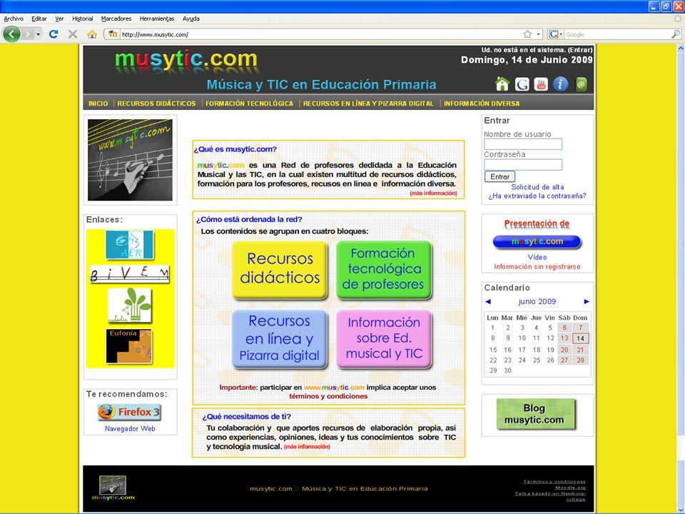 Principios de musytic.com