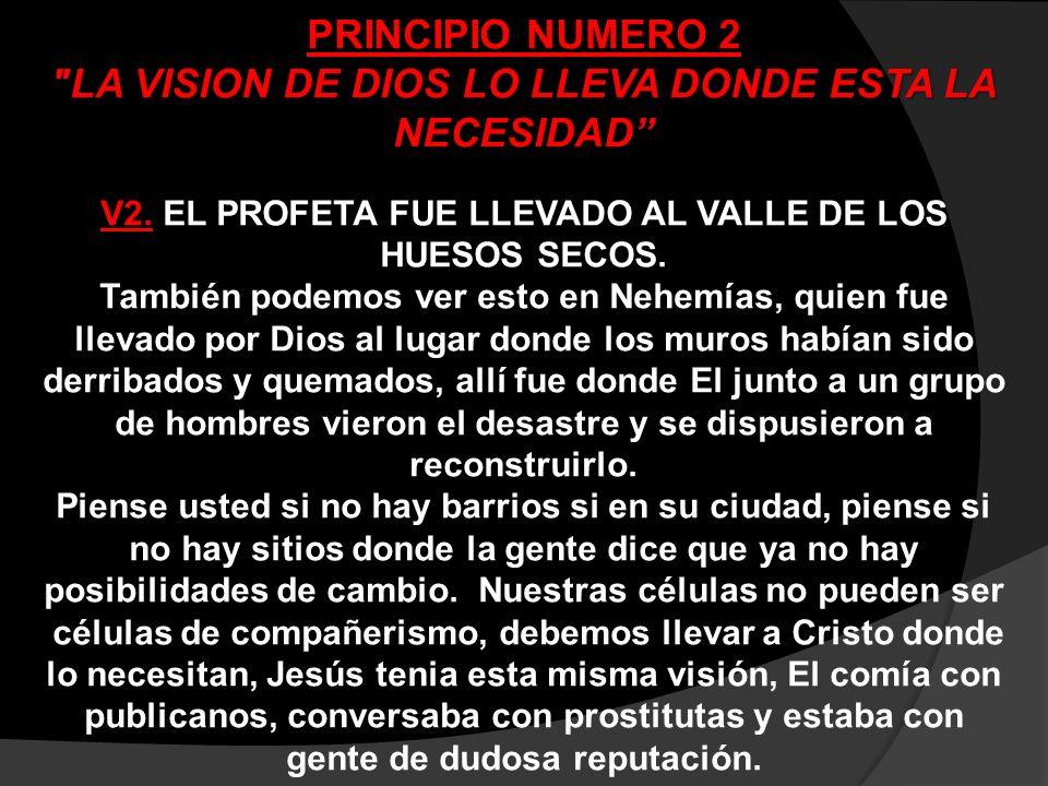 PRINCIPIO NUMERO 3 LA VISION DE DIOS SE ACTIVA A TRAVES DE SU PALABRA V3.