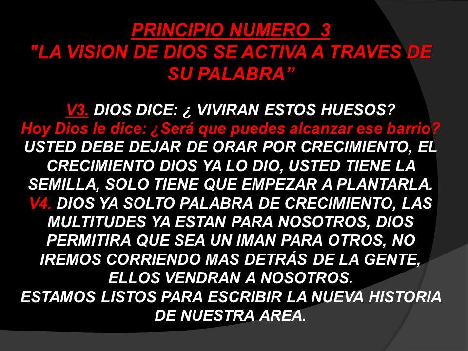 PRINCIPIO NUMERO 4 LA VISION DE DIOS UNE A LA GENTE ESTOS PRINCIPIOS SE PUEDEN APLICAR A CUALQUIER VISION DE DIOS.