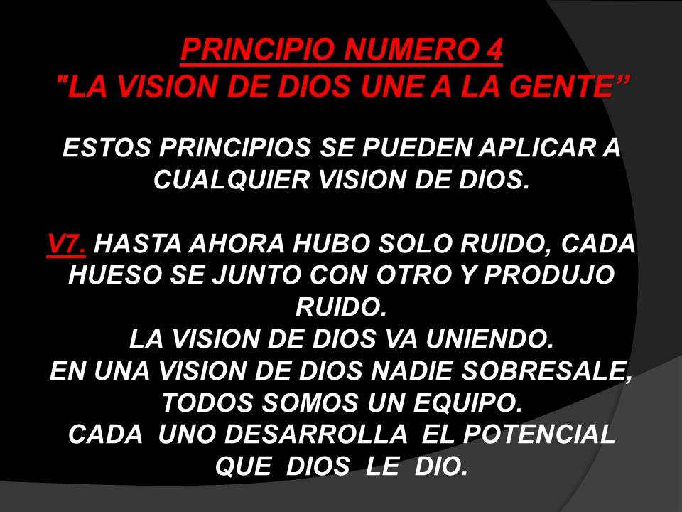 PRINCIPIO NUMERO 5 LA VISION DE DIOS SE CUMPLE POR ETAPAS V8.