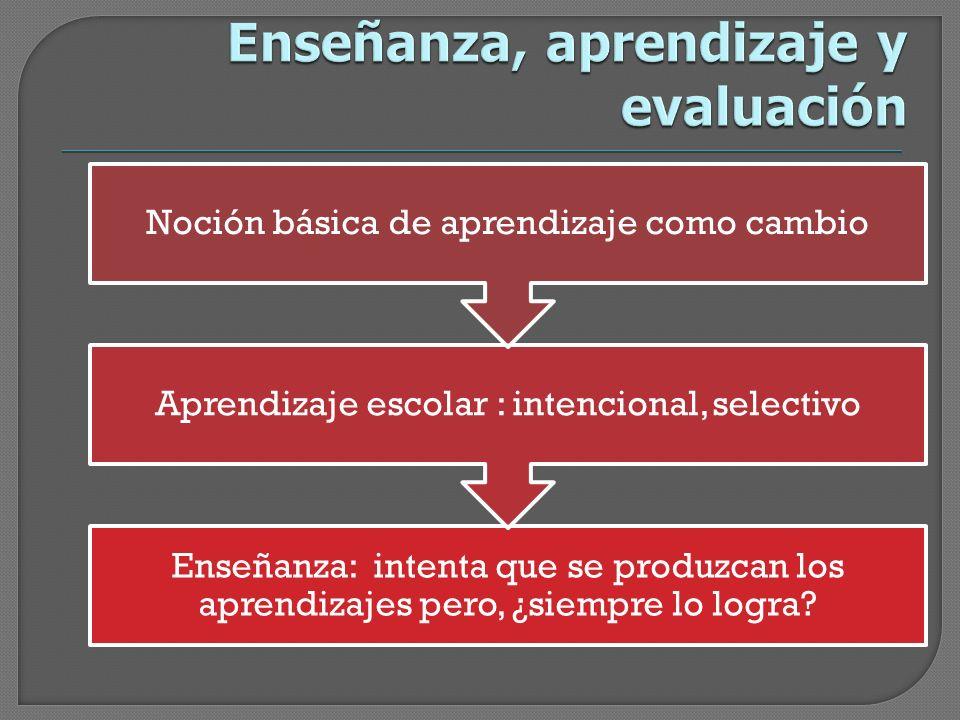 La evaluación como orientación de la acción La mejora como propósito centralLa reflexión sobre la prácticaMucho más que un proceso de mediciónNuevos procesos de evaluación