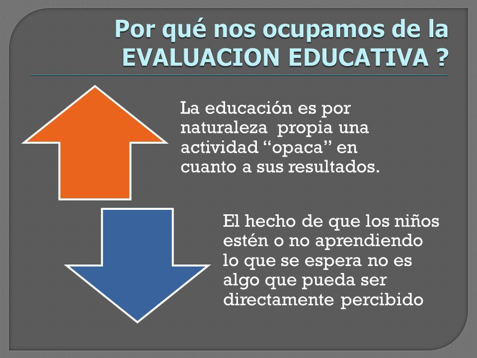 Qué tipo de información se produce y se difunde a partir de las acciones de evaluación.