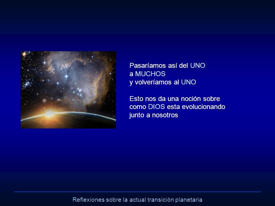 Reflexiones sobre la actual transición planetaria ¿Cómo actúan las Partes de Dios.