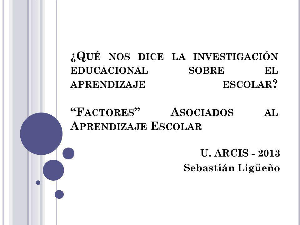 I NTRODUCCIÓN Viraje de las políticas educativas desde la masificación a la calidad.